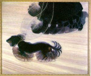 Dynamizm psa na smyczy - Giacomo Balla