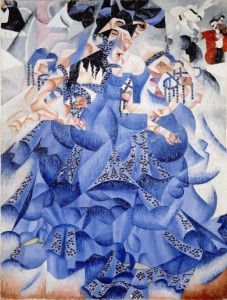Tancerka w błękicie - Gino Severini