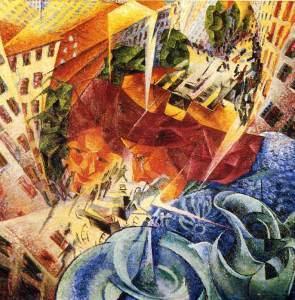 Wizje symultaniczne - Umberto Boccioni
