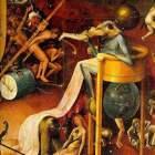 Heronim Bosch – Ogród rozkoszy ziemskich