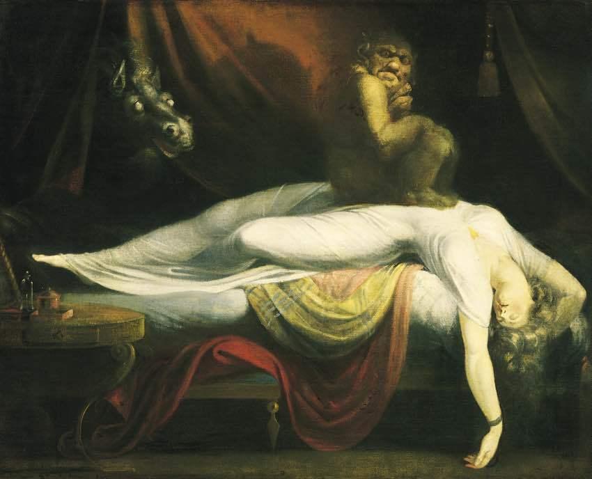 Nocna mara - Henry Fuseli