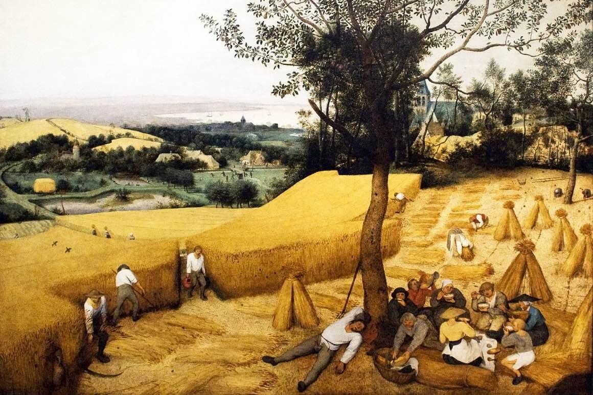 Jesienne obrazy Pana Bruegela