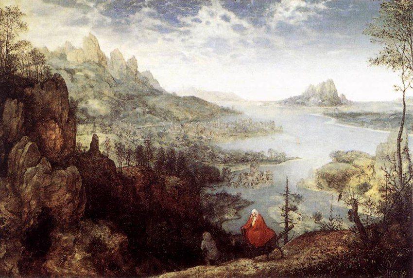Krajobraz z ucieczką do Egiptu