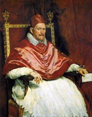 Portret papieża Innocentego X – Diego Velázquez