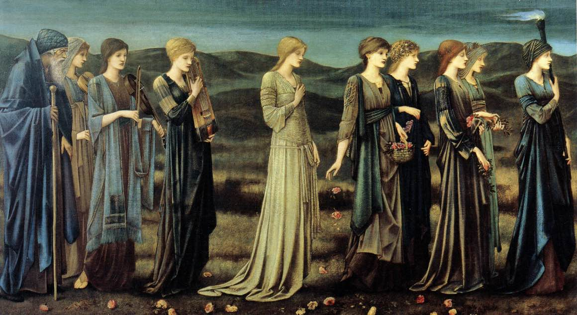 Edward Burne Jones - Ślub Psyche
