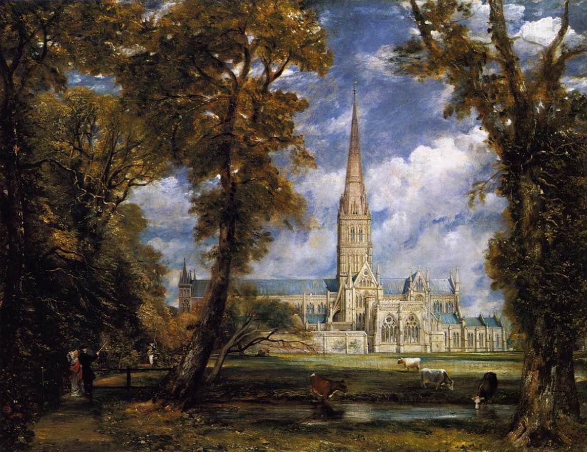 John Constable - Katedra Salisbury