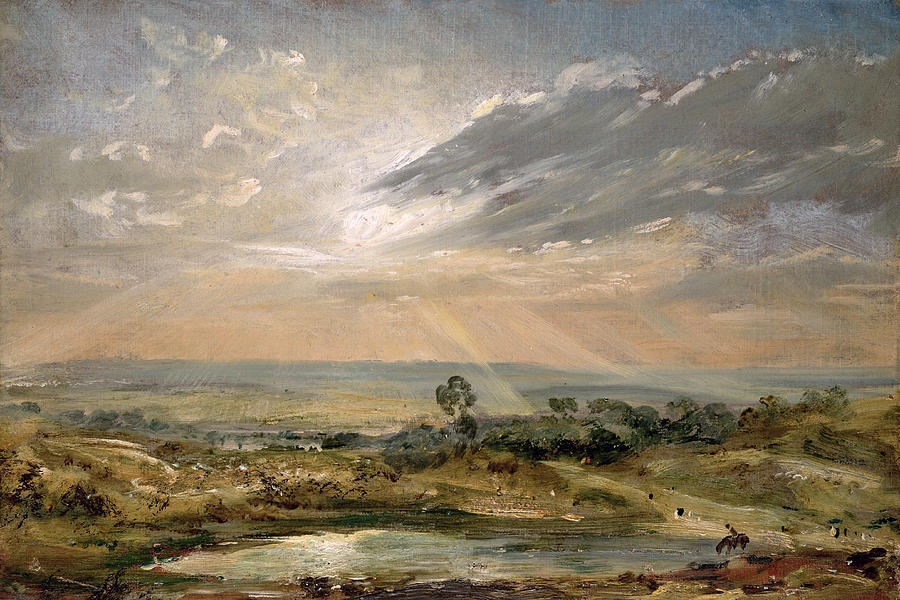 John Constable - Staw nieopodal Branch Hill