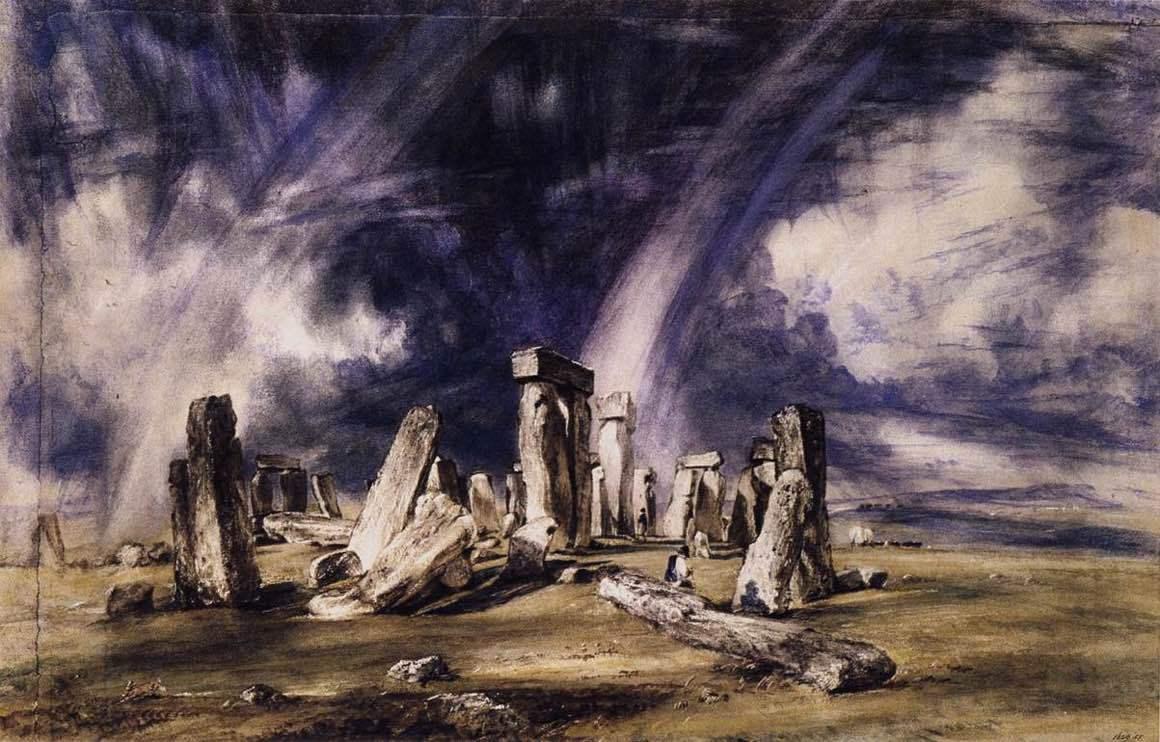 John Constable - Stonehenge
