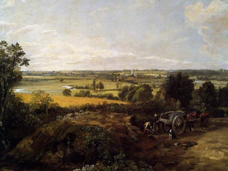 John Constable - Stour Valey Church of Dedham