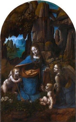 Leonardo da Vinci – Madonna w grocie