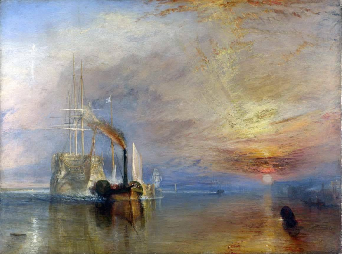 William Turner Ostatnia droga Temeraire'a