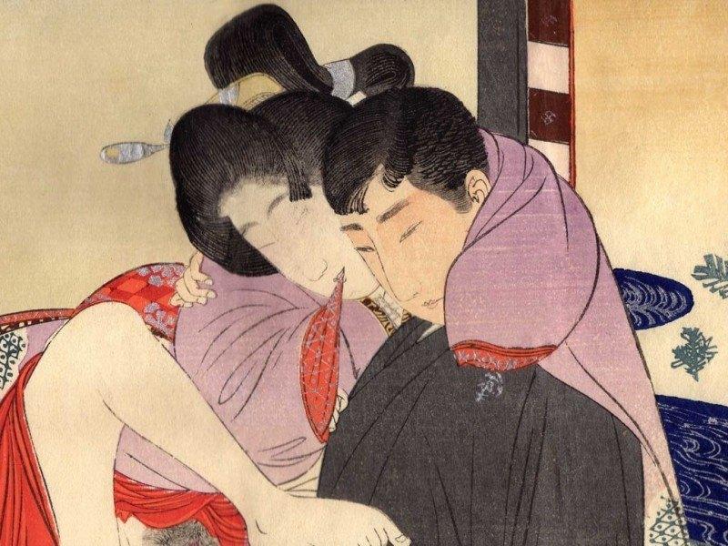Meiji Period Shunga