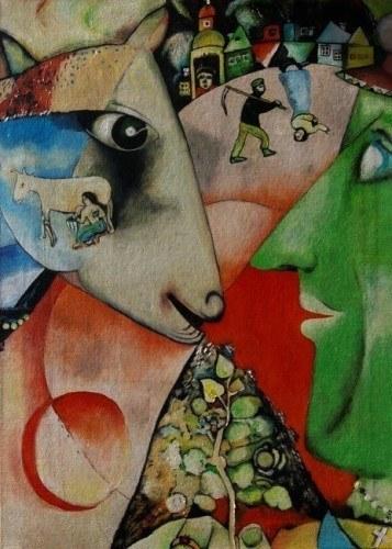 Marc Chagall Ja i wieś