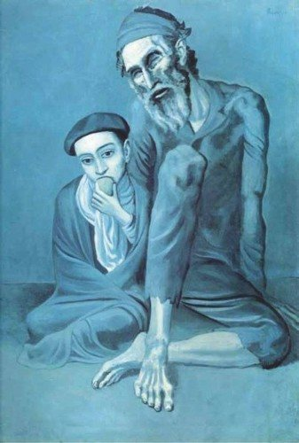 Picasso - Stary Żyd z chłopcem