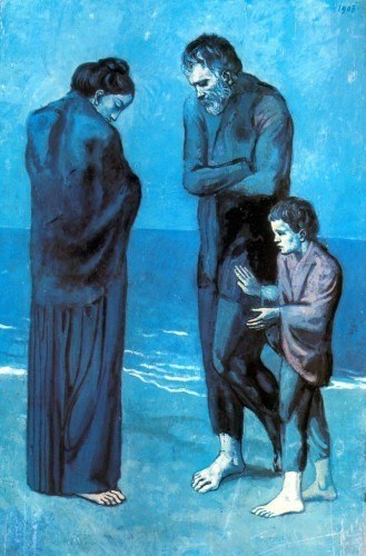 Picasso - The Poor at the Seaside