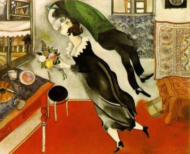 Portret Vavy Chagall