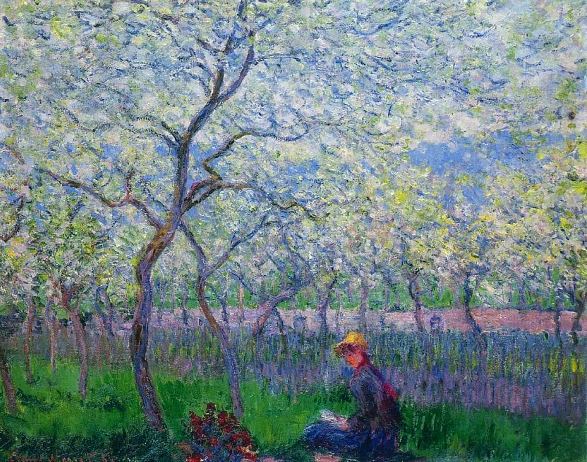 Sad wiosną – Cloude Monet