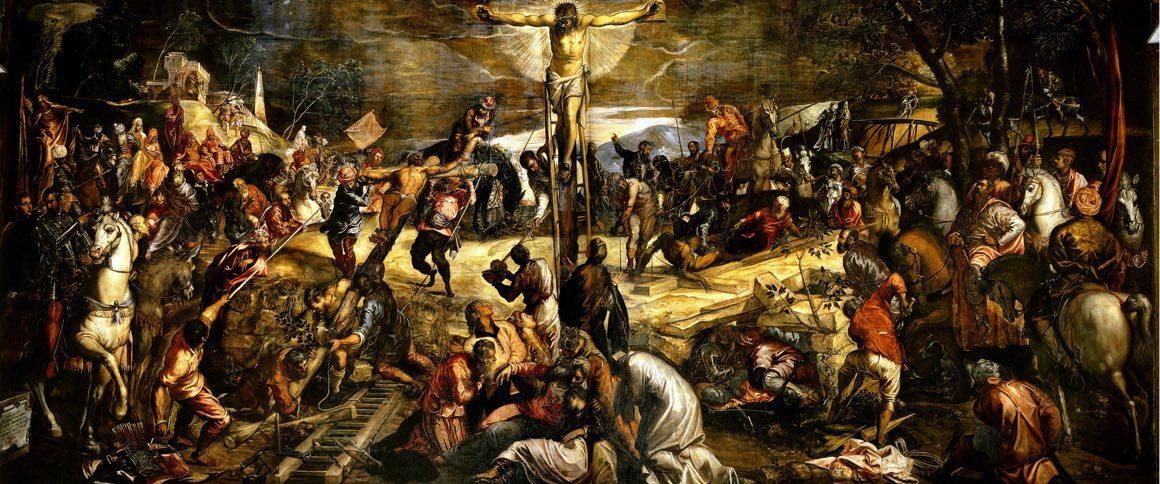 Tintoretto - Ukrzyżowanie