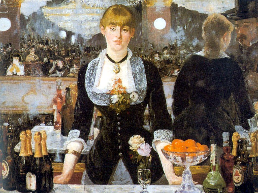 Bar w Folies bergere – Édouard Manet