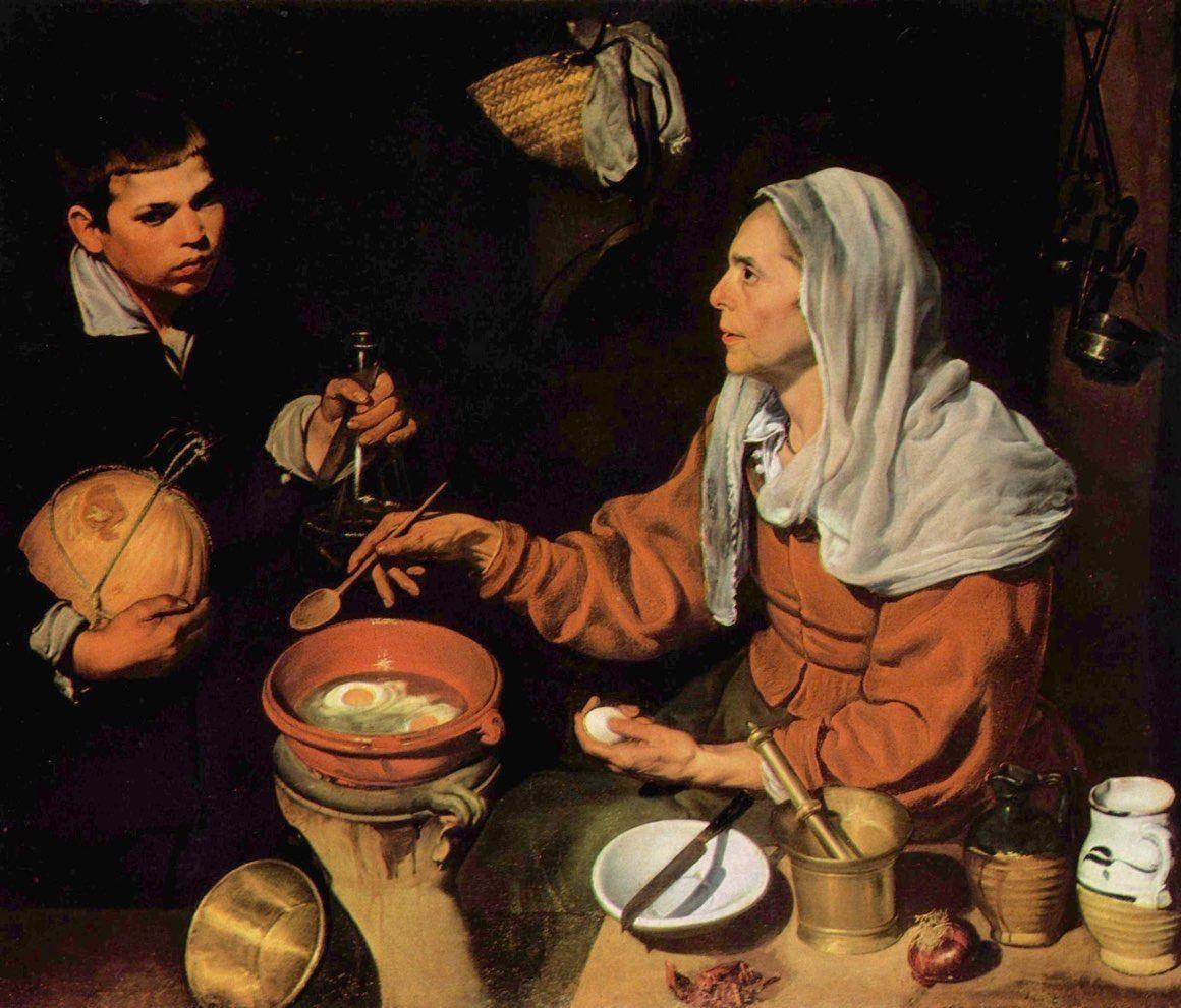 Stara kucharka – Diego Velzquez