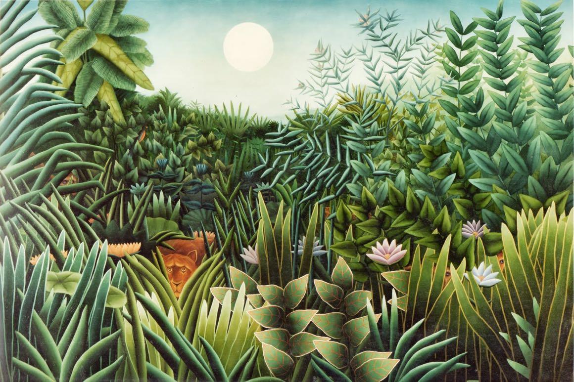 Celnik Rousseau – malarz dżungli, który nigdy nie widział dżungli