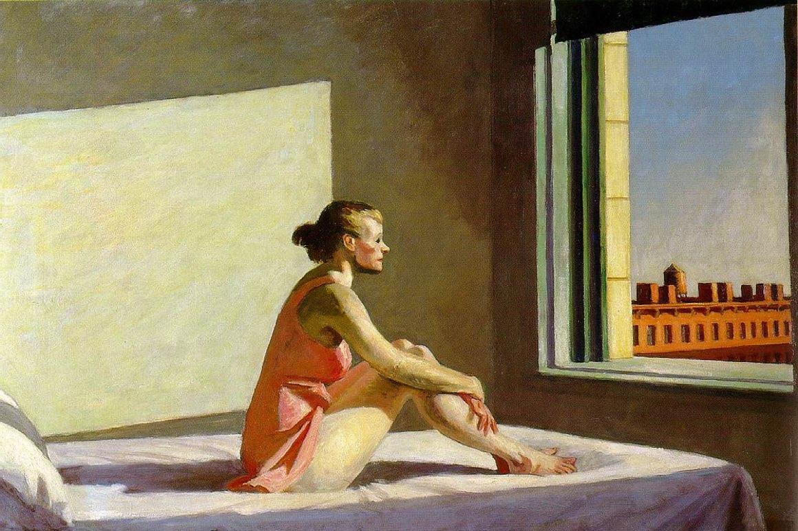Edward Hopper – obrazy intymności
