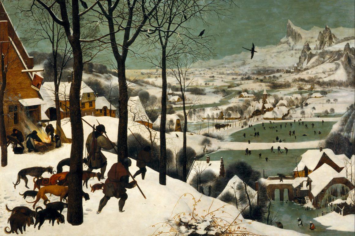 Zima w obrazach